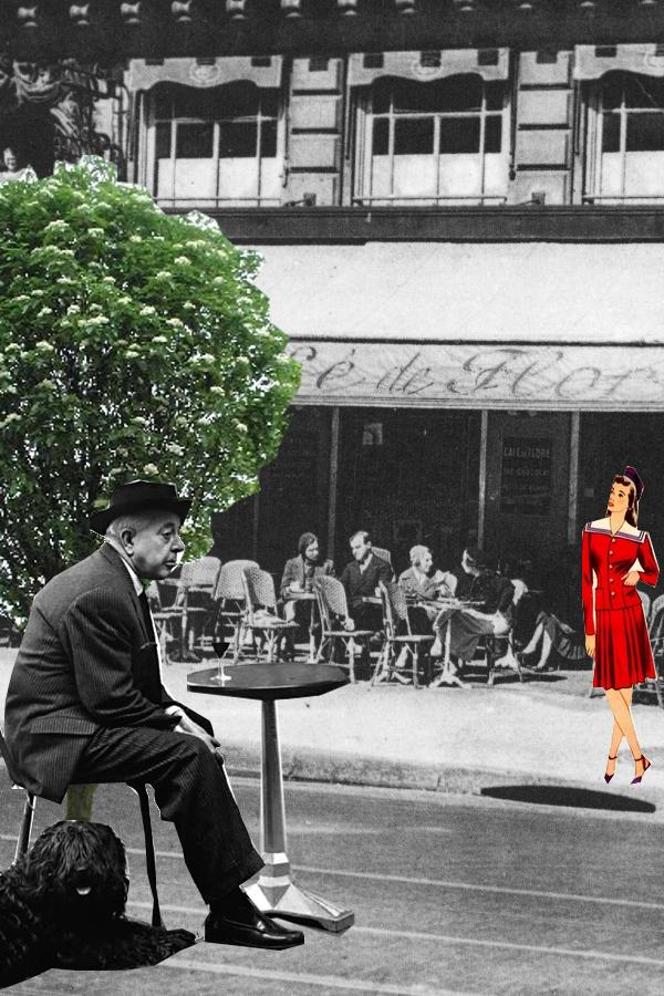 Prévert Café de Flore