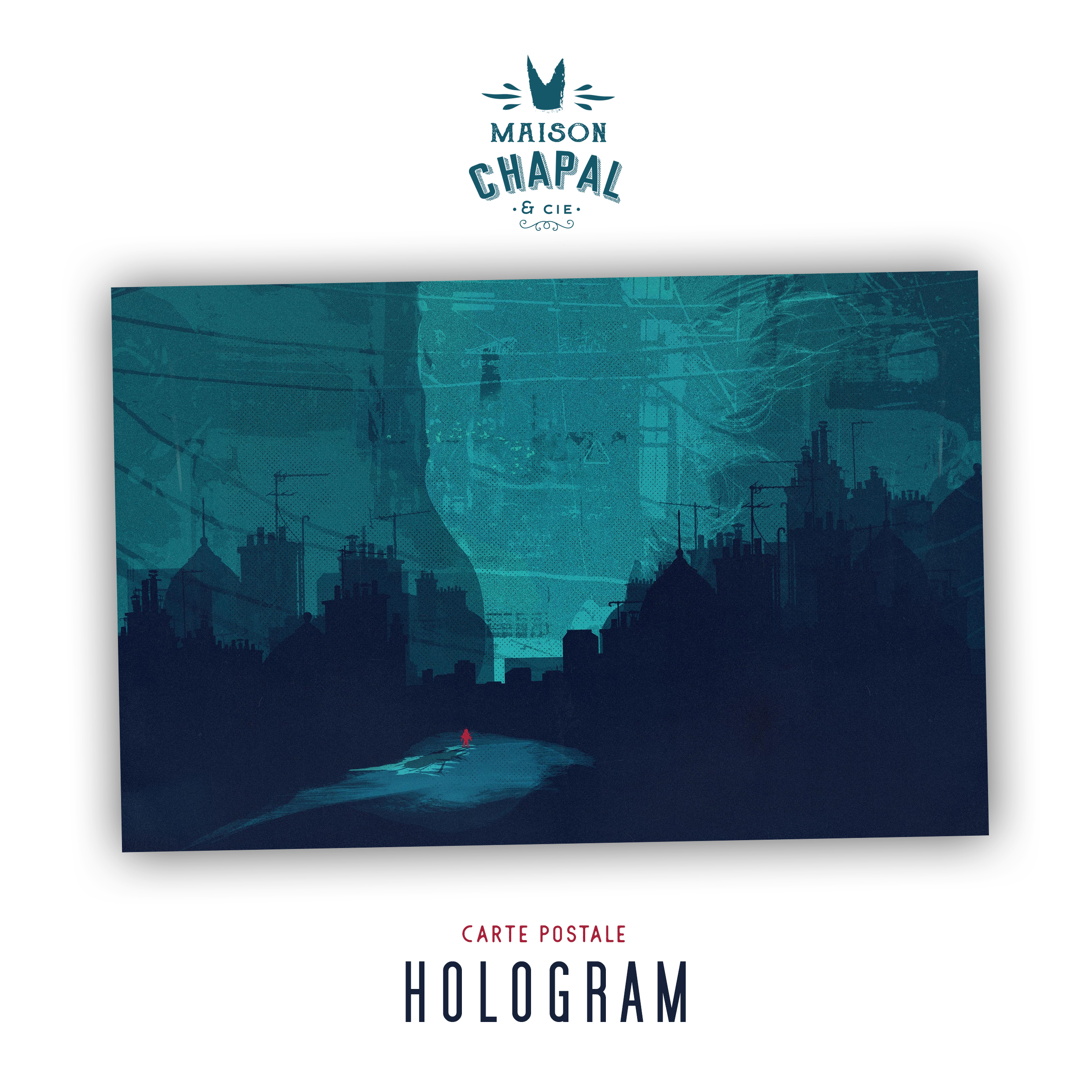 Carte postale Hologram